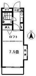 ハウス87[2階]の間取り