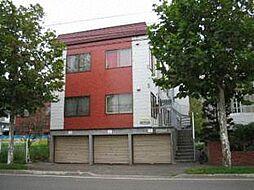 北海道札幌市東区北二十七条東3丁目の賃貸アパートの外観