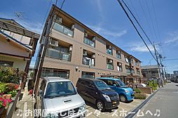 大阪府枚方市磯島茶屋町の賃貸マンションの外観