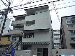 京都府京都市上京区笹屋四丁目の賃貸マンションの外観