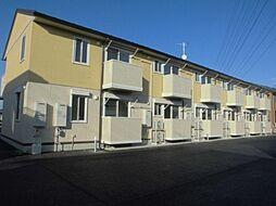 群馬県前橋市江田町の賃貸アパートの外観