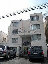 北海道札幌市北区麻生町6の賃貸マンションの外観