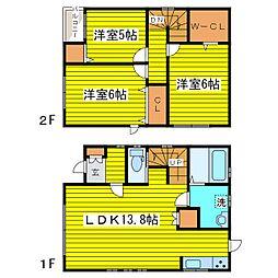[一戸建] 北海道札幌市東区北二十七条東9丁目 の賃貸【/】の間取り