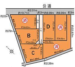 B区画 1,250万円 183.97平米(55.65坪)