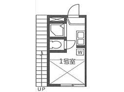 テラス宿河原[2階]の間取り