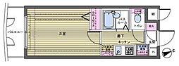 フェニックス新宿若松町[402号室号室]の間取り