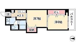 矢場町駅 6.6万円