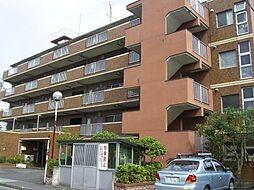 東京都羽村市緑ヶ丘1丁目の賃貸マンションの外観