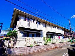 東京都東久留米市柳窪3丁目の賃貸アパートの外観