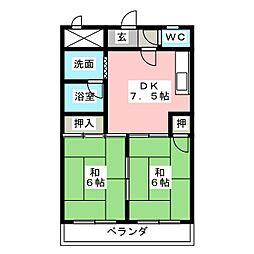 Life in かいめい[2階]の間取り