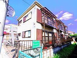 田中コーポII[2階]の外観