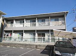 東京都江戸川区東葛西5丁目の賃貸アパートの外観