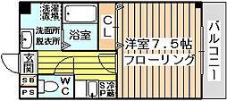 エルカーサ正雀2[1階]の間取り