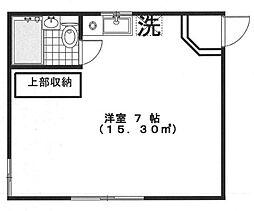 ワンミニット千川[203号室]の間取り
