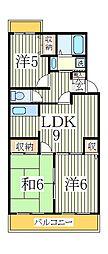 第15パールメゾン鏑木[1階]の間取り