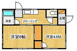 [一戸建] 神奈川県大和市上草柳6丁目 の賃貸【神奈川県 / 大和市】の間取り