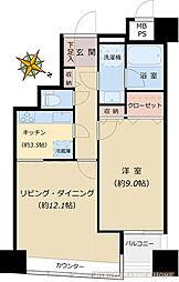 フォルム小石川[7階]の間取り
