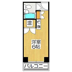 京都今出川レジデンス[505号室]の間取り