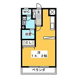 第2ニッコーハイツ[3階]の間取り