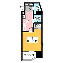 メルベーユゼンゴ[4階]の間取り