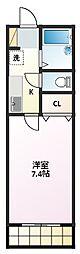 シティライフ覚王山(カクオウザン)[3階]の間取り