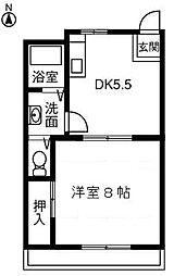 RESURGE23 1階[106号室]の間取り