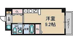 セレブコート木川[9階]の間取り