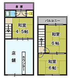 JR片町線(学研都市線) 寝屋川公園駅 徒歩4分の賃貸住宅付店舗(建物全部)