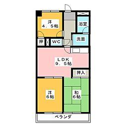 アメニティメイセイ[4階]の間取り