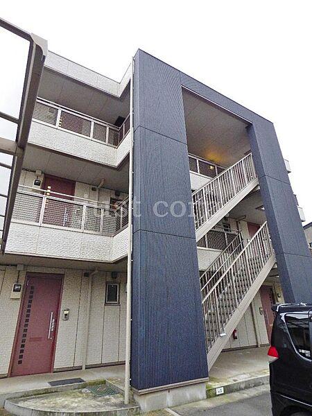 神奈川県平塚市北金目1丁目の賃貸マンションの外観