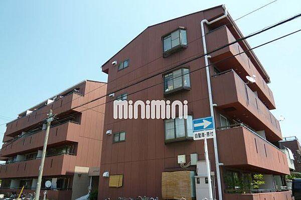 マンションブリッジ88[3階]の外観