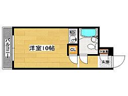 ×ロマネスク箱崎 β[7階]の間取り
