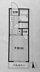 第三フラッツ横浜[102号室]の間取り