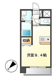 プレサンス鶴舞駅前ブリリアント[11階]の間取り
