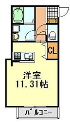 BELL PORT本千葉(ベルポート)[203号室]の間取り