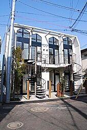 東京都渋谷区笹塚2丁目の賃貸アパートの外観