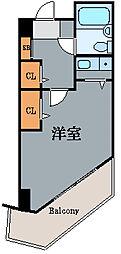 神奈川県川崎市川崎区砂子1の賃貸マンションの間取り