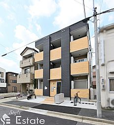 愛知県名古屋市東区豊前町2丁目の賃貸アパートの外観