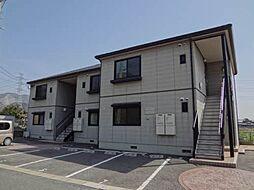 福岡県北九州市八幡西区石坂3丁目の賃貸アパートの外観
