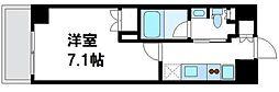 リコットハウス中野新橋[0302号室]の間取り