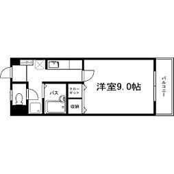 サクシード浅川[305号室]の間取り