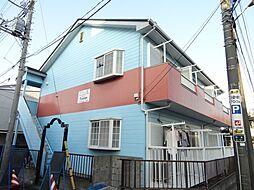 千葉県千葉市中央区松波2丁目の賃貸アパートの外観