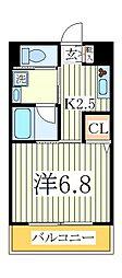 ルートビル[4階]の間取り