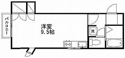 新潟県新潟市中央区長嶺町の賃貸アパートの間取り