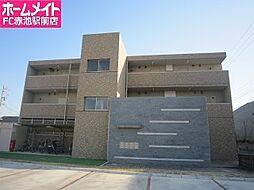 愛知県名古屋市緑区定納山1丁目の賃貸マンションの外観