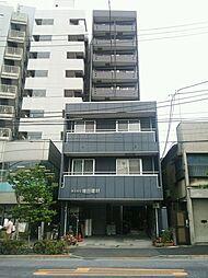 東京都新宿区津久戸町の賃貸マンションの外観