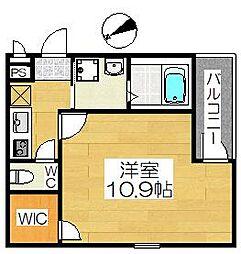 フジパレス浜寺石津III番館[3階]の間取り