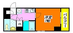 ジオ・グランデ・高井田 407号室[4階]の間取り
