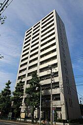 東京都文京区本駒込3丁目の賃貸マンションの外観