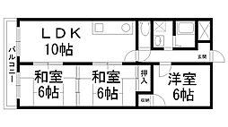 オーハウス30[0207号室]の間取り